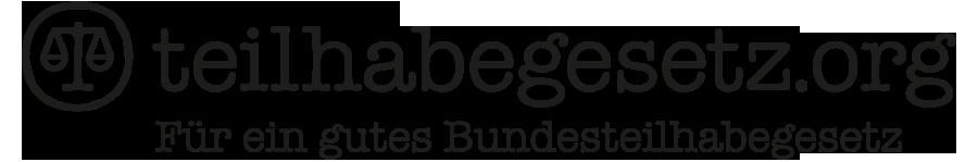 Logo teilhabegesetz.org Für ein gutes Bundesteilhabegesetz